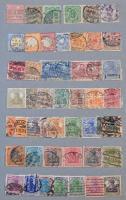 Kis Deutsches Reich gyűjtemény + kevés NDK, NSZK, 10 lapos A/4 berakóban