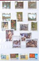Kuba gyűjtemény, benne motívum sorok, blokkok, összefüggések 4 és 16 lapos A/4 berakókban