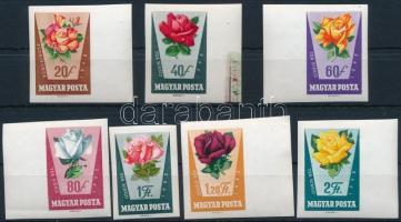 1962 Rózsák (I.) vágott sorból 7 érték
