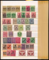 Deutsches Reich 1920-1926 104 klf bélyeg közepes berakólapon