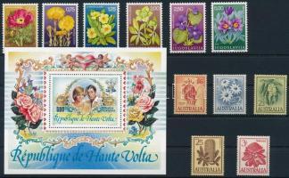 1959-1983 Virág motívum 1 sor + 1 blokk + 5 db önálló érték
