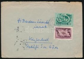 24 db köznapi levél 1947-1955