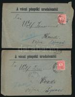 8 db levél Színesszámú 5kr bérmentesítéssel