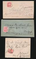 6 db levél Színesszámú 5kr bérmentesítéssel