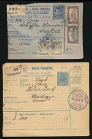 1912-1921 3 db Csomagszállító