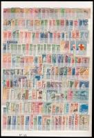 Görögország összeállítás, benne 260 db klf bélyeg 2 db A4-es berakólapon