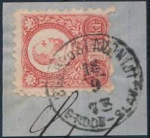 1871 Réznyomat 5kr BROOD u SLAVONIJI / BROOD-SLAV.