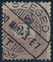 1899 24kr 12 : 11 3/4 fogazással (12.000)