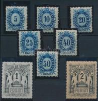 1874 Távírda sor (8.000)