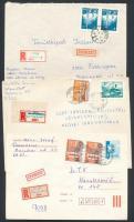 1974-1983 3 db levél ragjegy-provizóriummal