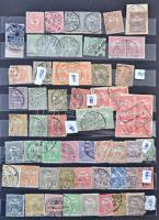 Magyar maradvány gyűjtemény 1881-1950-ig A4-es, 8 lapos berakóban