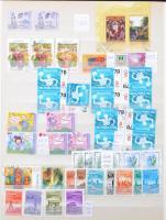 Tétel 16 lapos A/4 berakóban 1930-tól, benne sok modern képes bélyeg a 2000-2010-es évekből