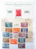 Főleg postatiszta kis tétel 1938-2009 16 fehér lapos A/4 berakó néhány oldalán