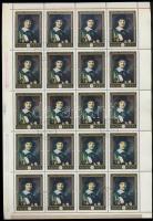 1969. Festmények VII. 180 sor teljes ívekben + 12 sor tömbökben (48.000)
