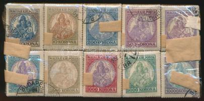 1921 Koronás Madonna 100 sor bündlikben (60.000)