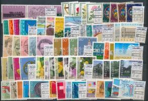 Svájc tétel, benne 16 db sor stecklapon (Mi EUR 72,30)