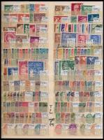 Németország Danzig tétel, benne 50 db sor és 44 db bélyeg (Mi EUR 1720,30)