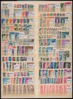 Német megszállások 66 db sor, 12 db bélyeg kétoldalas nagyalakú berakólapon (264,90)