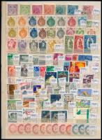 Liechtenstein tétel, benne 5 db sor + 44 db bélyeg + 9 db blokk kétoldalas nagyalakú berakólapon (165,90)