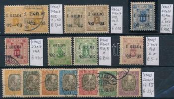 1902 Klasszikus összeállítás, 16 db bélyeg (Mi EUR 509,-)