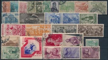 Szovjetunió 1929-1938 28 db klf bélyeg stecklapon (Mi EUR 65,-)