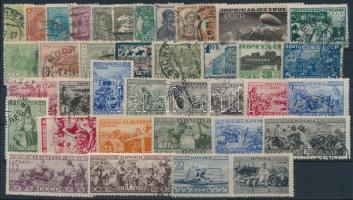 Szovjetunió 1929-1933 38 db klf bélyeg stecklapon (Mi EUR 70,-)