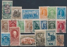 Szovjetunió 1926-1929 20 db klf bélyeg stecklapon (Mi EUR 50,-)