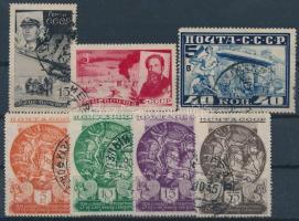 Szovjetunió 7 db klf érték stecklapon (Mi EUR 50,-)