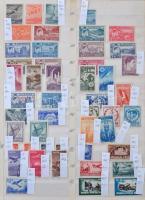 Románia összeállítás 1945-1957 3 lapos nagyalakú berakóban (Mi EUR 597,-)