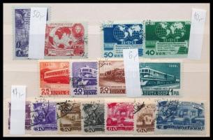 Szovjetunió 4 db sor (Mi EUR 83,-)