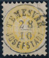 1864 2kr (szakadás / tear) TEMESVÁR JOSEFSTADT