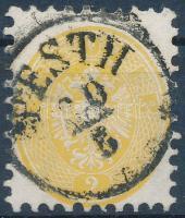1864 2kr PESTH