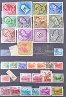 Magyar alap gyűjtemény 1961-1968 12 lapos A4-es berakóban