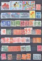 Vegyes külföldi bélyegek 10 lapos A4-es berakóban