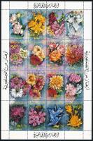 Flower complete sheet, Virág teljes ív