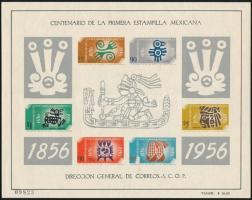 Bélyeg centenárium blokksor Stamp centenary block set
