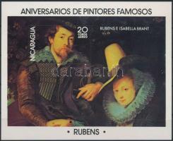 Rubens festmény blokk Rubens painting block