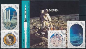 Holdraszállás - Apollo 11 sor + blokk Moon Landing - Apollo 11 set + block