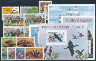 13 db bélyeg és 4 klf blokk 13 stamps + 4 blocks