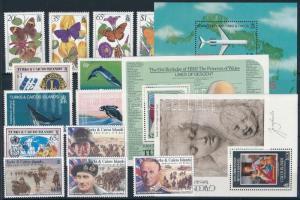 1982-1994 13 klf bélyeg és 3 klf blokk 1982-1994 13 stamps + 3 blocks