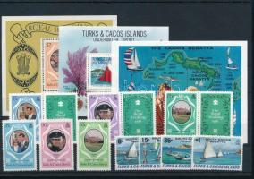 10 klf bélyeg és 3 klf blokk 10 stamps and 3 blocks