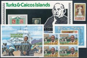 1979-1981 18 db bélyeg és 5 klf blokk 1979-1981 18 stamps and 5 blocks