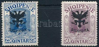 1920 Forgalmi sor 2 érték Mi 73+75