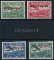 Repülő sor 4 értéke Plane 4 stamps