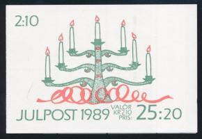 Karácsony bélyegfüzet Christmas stamp-booklet