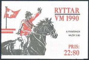 Világ Lovasjátékok bélyegfüzet World Equestrian Games stamp-booklet