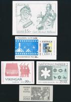 5 klf Bélyegfüzet 5 diff Stampbooklets