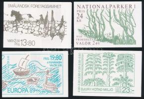 7 klf Bélyegfüzet 7 diff Stampbooklets