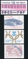 4 klf Bélyegfüzet 4 diff Stampbooklets