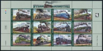 Locomotive minisheet Mozdony kisív
